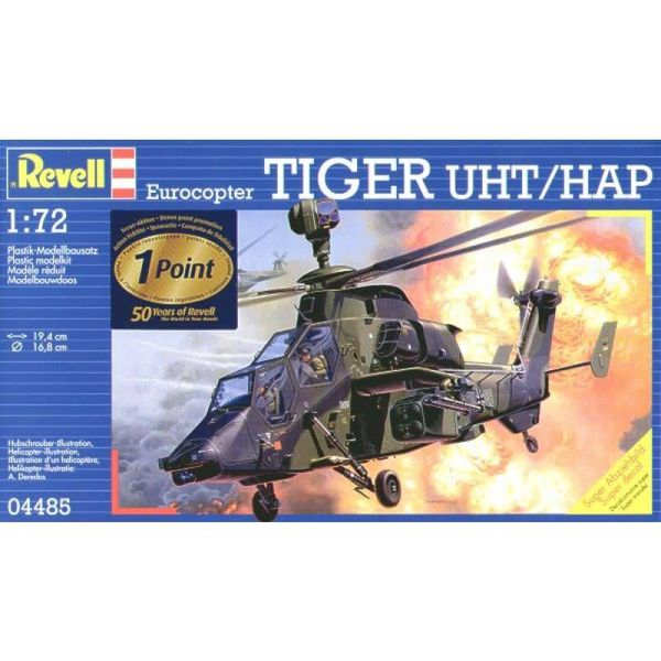 "EUROCOPTER""TIGER""UHT 1:72 Scale Kit"