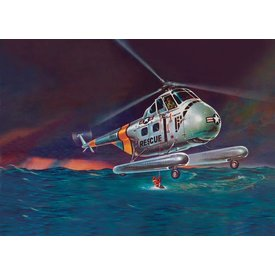 Revell REVEL H-19 RESCUE HELICOPTER 1:48