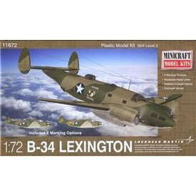 Minicraft Model Kits B-34 LEXINGTON [ Ventura Mk.IIa ] 1:72 Kit