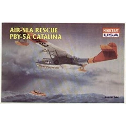 MINIC PBY5A CATALINA USAF A-S RESCUE 1:144
