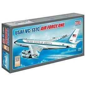Minicraft Model Kits USAF VC-137 AIR FORCE ONE Reg#26000 1:144 Kit