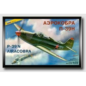 Zvesda P39N Aircobra 1:72 Scale Kit