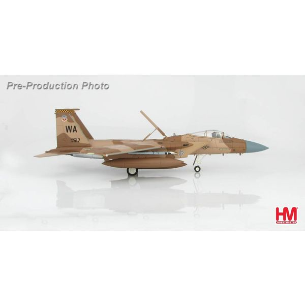 Hobby Master F15C Eagle Desert Flanker Scheme WA USAF Nellis AFB 2012 78-517 1:72 with stand