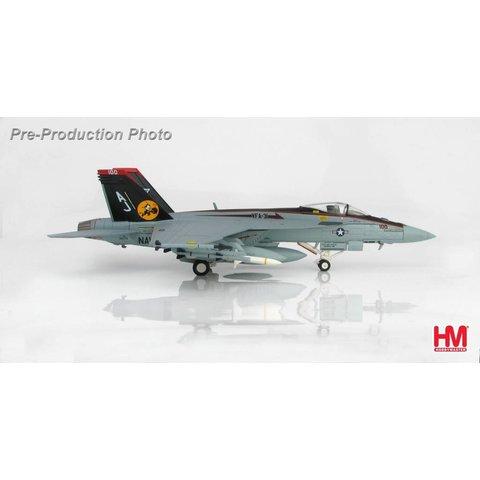 FA18E Super Hornet Rhino VFA31 Tomcatters CAG 2009 AJ-100 1:72 with stand