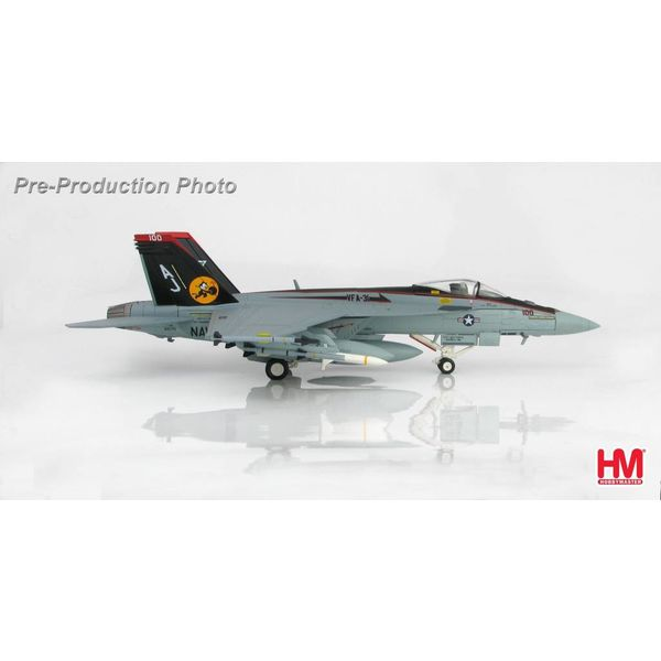 Hobby Master FA18E Super Hornet Rhino VFA31 Tomcatters CAG 2009 AJ-100 1:72 with stand