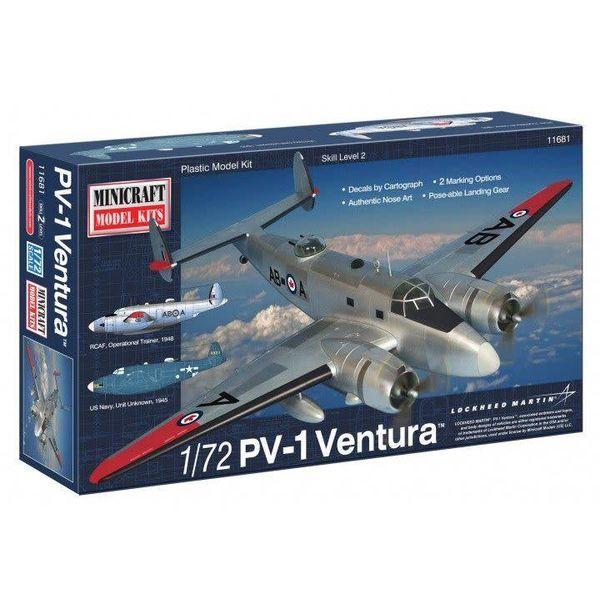 PV1 VENTURA RCAF/USN 1:72 KIT