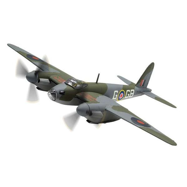 Corgi Mosquito BIV 105 Squadron RAF DK296 GB-G F/L D.A.G. Parry 1:72 with stand