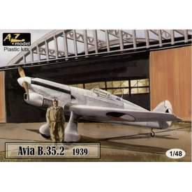 AZ MODEL AZMOD AVIA B35.2 1939 CZECH/LUFTWAFFE 1:48*O/P*