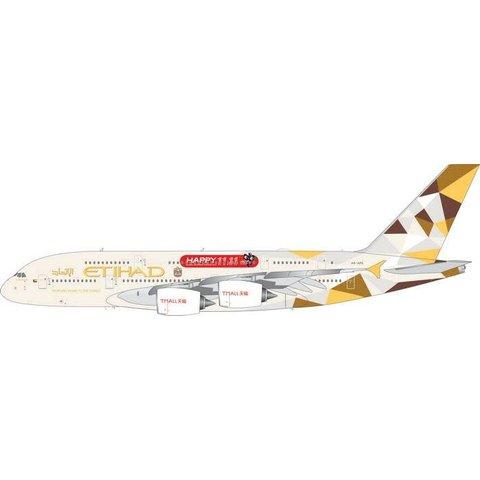 A380-800 Etihad TMALL Happy 11.11 2014 livery A6-APE 1:400