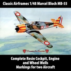 Classic Airframes Marcel Bloch MB155 1:48**Discontinued**