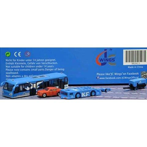 GSE KLM Set #3: Mover,COBUS,Car,GPU 1:200++SALE++