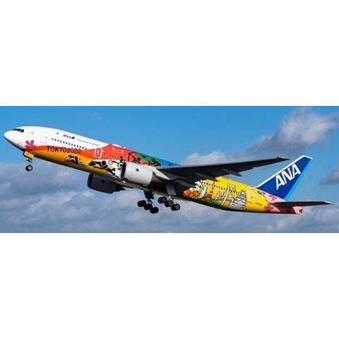 B777-200ER ANA Tokyo 2020 Jet JA741A 1:400