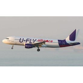 JC Wings A320 Hong Kong Express U-FLY Alliance 1:400