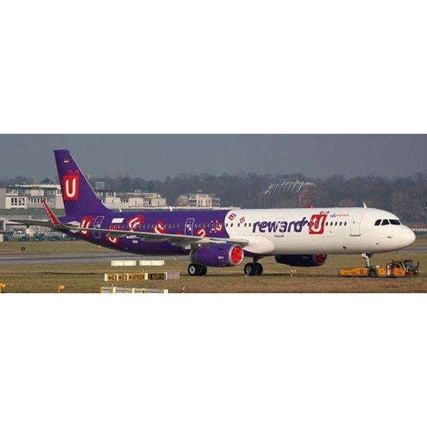 JC Wings A321S Hong Kong Express U-FLY Alliance 1:400
