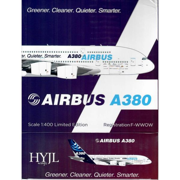 HYJL Wings A380-800 Airbus House Greener F-WWOW 1:400