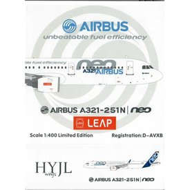 HYJL Wings A321neo Airbus House Livery CFM LEAP 1:400