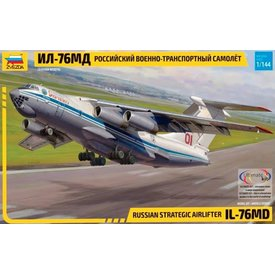 Zvesda IL76MD RUSSIAN VOLGA DNEPR 1:144 Scale Kit