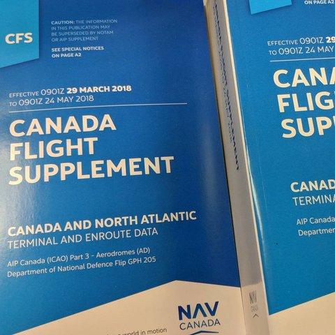 Canada Flight Supplement Feb 28 2019