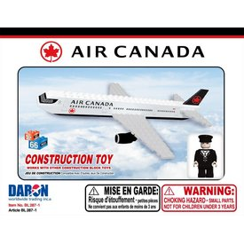 Best-Lock Construction Toys Air Canada New Livery 2017 55 Piece Construction Toy