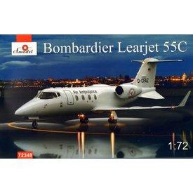 AMODEL Bombardier Learjet 55C 1:72 Kit