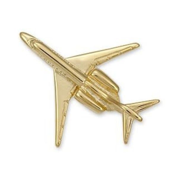Pin Citation X (3-D cast) Gold Plate