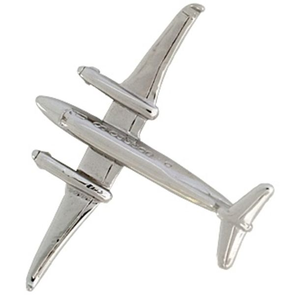 Pin King Air 350 (3-D cast) Silver Plate