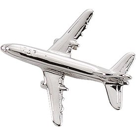 Johnson's Pin Boeing B737 (3-D cast) Silver Plate