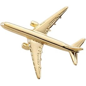 Johnson's Pin B767 (3-D cast) Gold Plate
