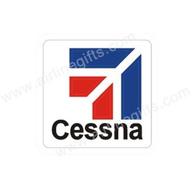 Patch Cessna logo Red Blue