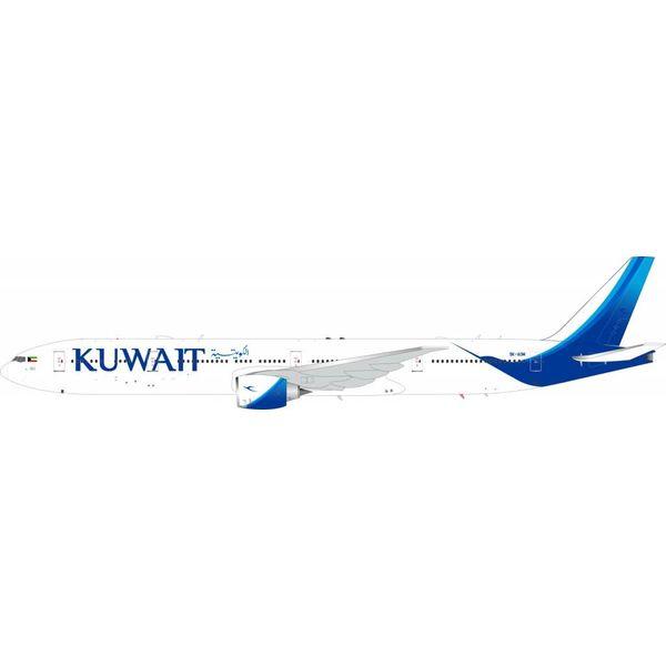 InFlight B777-300ER Kuwait Airways 9K-AOM 1:200 with Stand
