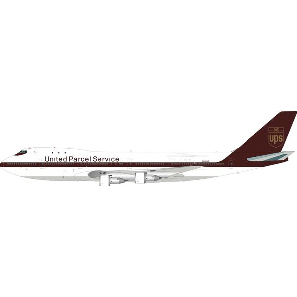 InFlight B747-100 UPS United Parcel Express N681UP 1:200 with Stand