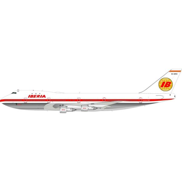 InFlight B747-100 Iberia EC-BRO Delivery Livery 1:200 with Stand