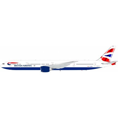 B777-300ER British Airways Union G-STBK 1:200 with stand