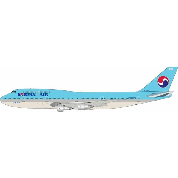 JFOX B747-300 Korean Air HL7470 1:200 with Stand