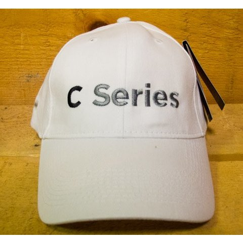 CAP C Series Bombardier White