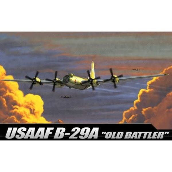 "Academy B29A USAAF ""OLD BATTLER"" 1:72"
