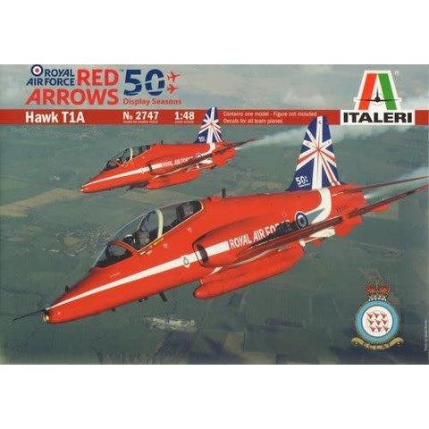 Hawk T1a Red Arrows 1:48 50th Anniversary