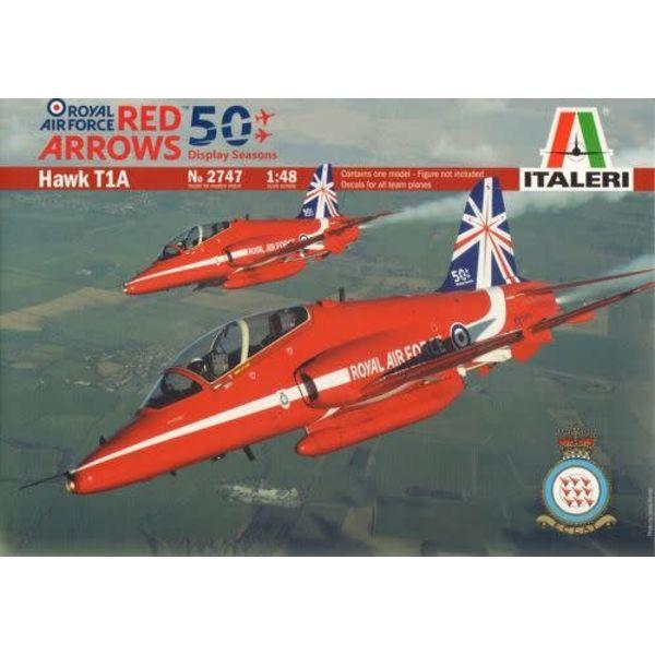 ITALE Hawk T1a Red Arrows 1:48 50th Anniversary