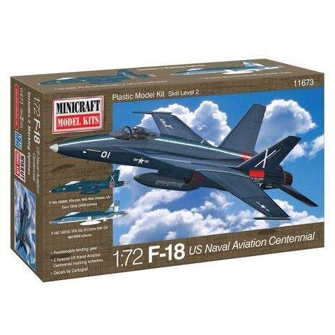 MINIC F18 US Naval Aviation Centennial 1:72