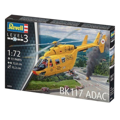 BK117 ADAC 1:72 Helicopter Kit