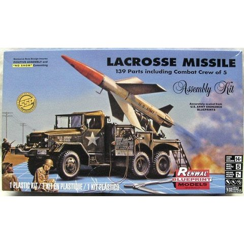 LACROSSE MISSILE & TRUCK 1:32 Re-issue