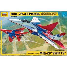 "Zvesda MiG-29S ""Swifts"" (Strizhi) 1:72 Scale Kit"