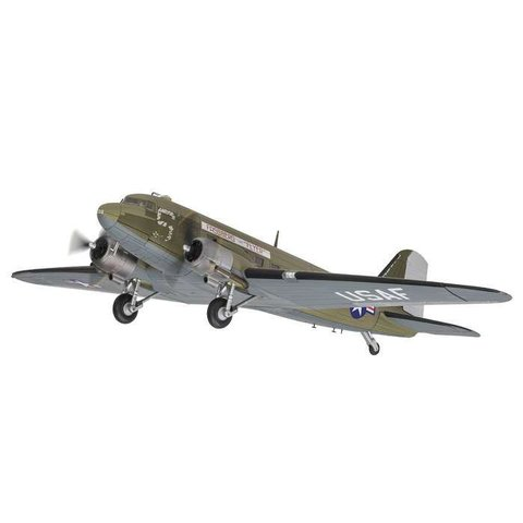 C47A Skytrain USAF Fassberg Flyer Berlin Airlift 315208 1:72 with stand