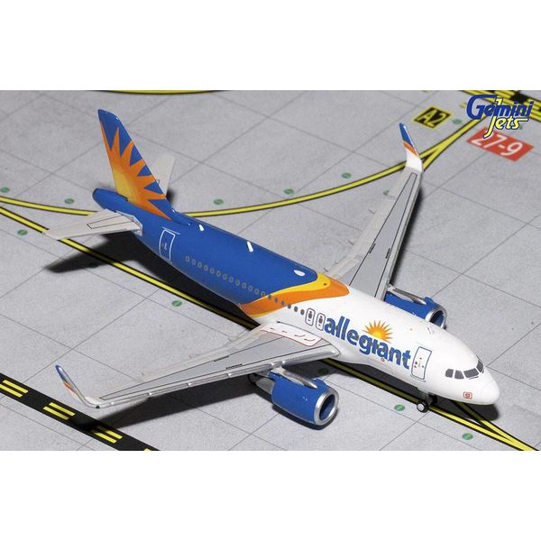 Gemini Jets A319S Allegiant Air 2016 livery 1:400 (no registration)