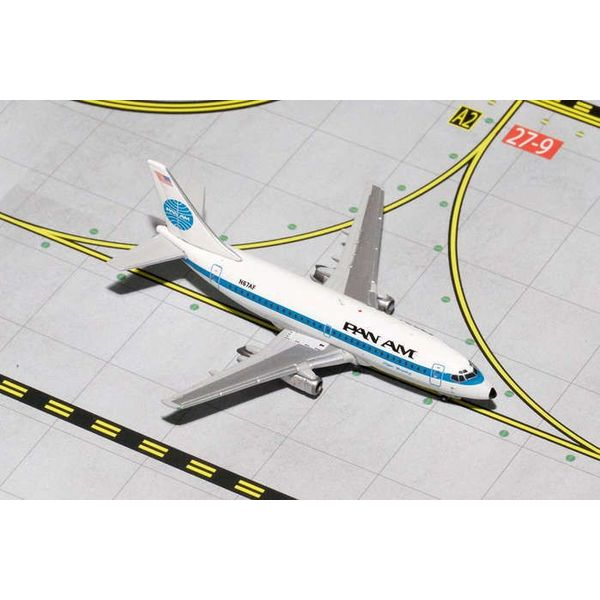 Gemini Jets B737-200 PAN AM Old Livery black titles N67AF 1:400