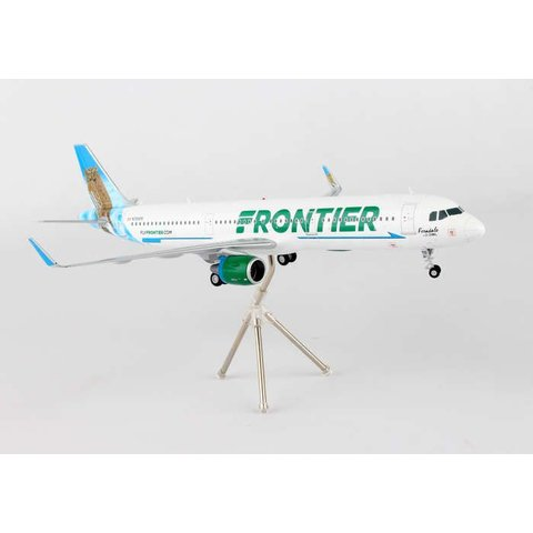 A321S Frontier New livery 2014 Ferndale the Owl N705FR 1:200