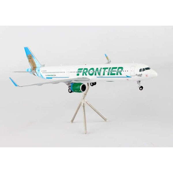Gemini Jets A321S Frontier New livery 2014 Ferndale the Owl N705FR 1:200
