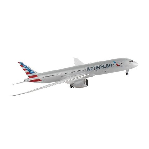 B787-9 American Airlines 2013 livery N820AL 1:200 with stand**o/p**