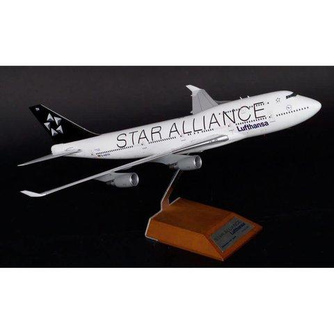 B747-400 LUFTHANSA STAR ALLIANCE 1:200**o/p**