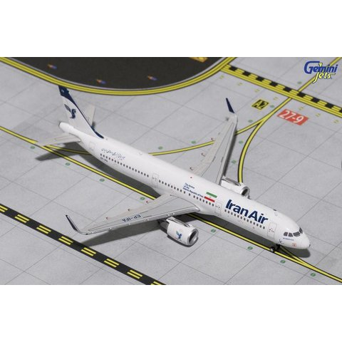 A321S Iran Air New Livery EP-IFA 1:400 Sharklets